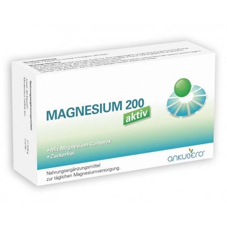 MAGNESIUM 200 aktiv Nahrungsergänzungsmittel