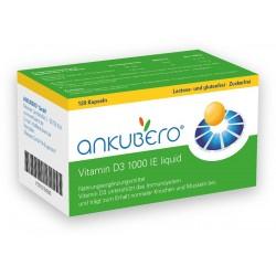 ANKUBERO Vitamin D3 1000 I.E. 120